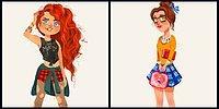 10 современных принцесс: взгляд художника