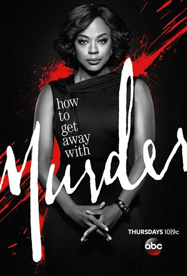 3. How to Get away with Murder (2014 - ) IMDb: 8.3
