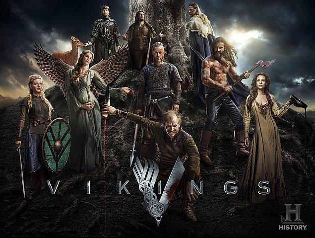 7. Vikings (2013 - ) IMDb: 8.6