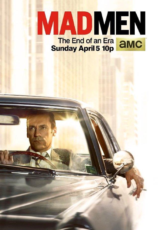 9. Mad Men (2007 – 2015) IMDb: 8.7