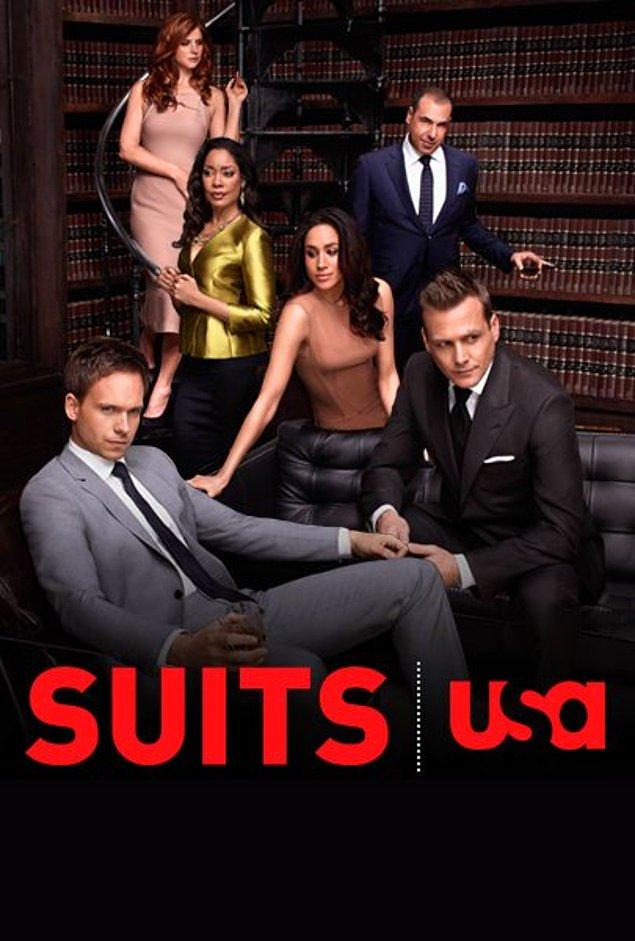 10. Suits (2010 - ) IMDb: 8.7
