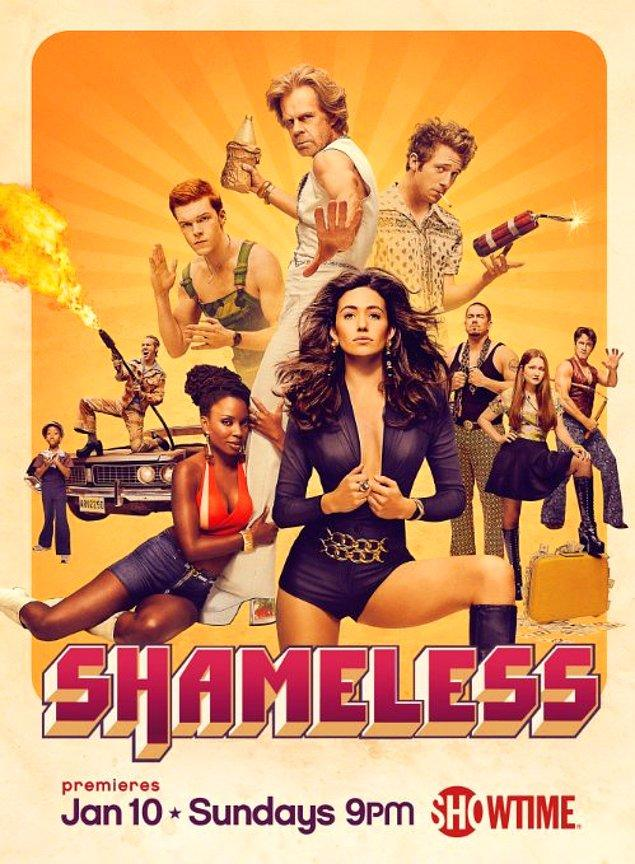 11. Shameless (2011 - ) IMDb: 8.7