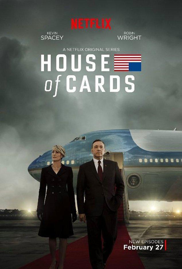 15. House of Cards (2013 - ) IMDb: 9.0