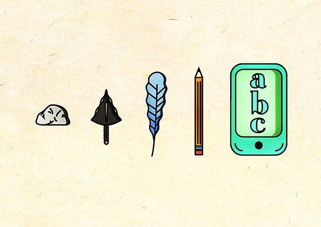 8. Yazı yazmak