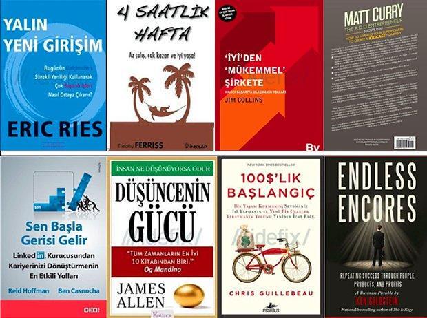 Her Girişimci Yöneticinin İstisnasız Okumak İsteyeceği 25 Müthiş Kitap