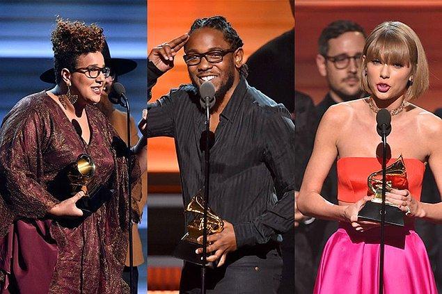 Grammy ödülüne layık görülen sanatçı ve gruplardan bazıları şöyle: