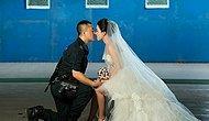 Оригинальные свадебные фото или замужем за военным