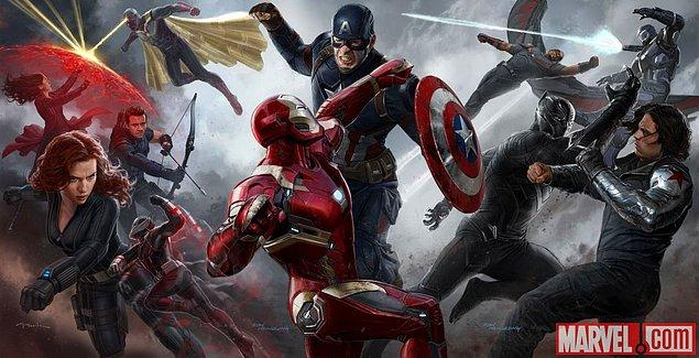 3. Captain America: Civil War (6 Mayıs 2016)
