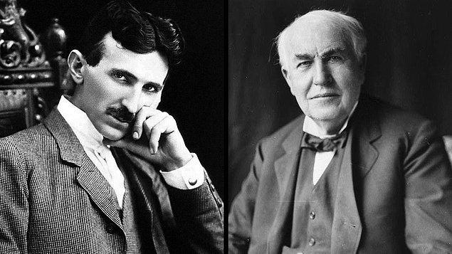 1. Tesla bilim insanıdır, Edison iş insanı.