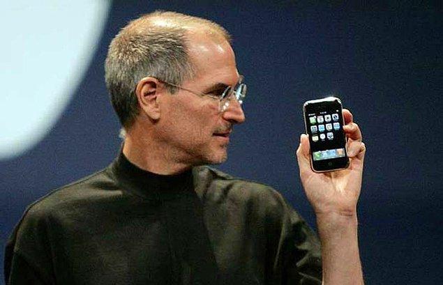 6. Steve Jobs 28 Haziran 2007'de herkesin bildiği tipte, ama kimsenin yapamadığı teknolojiyle donatılmış bir şey sundu.