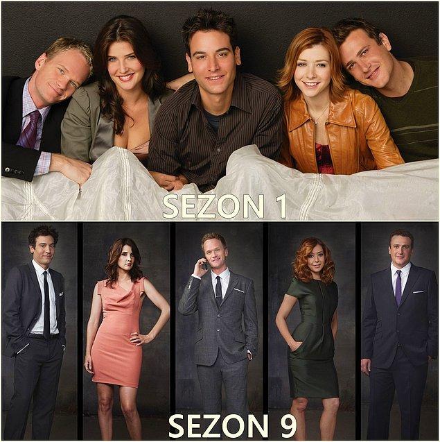 15. Ted, Marshall, Robin, Barney, Lily