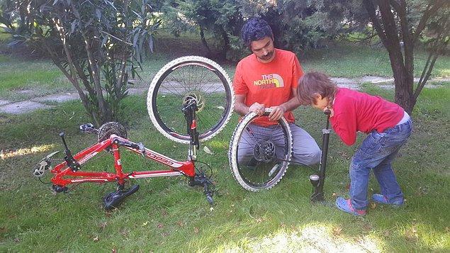 """20. 20"""" ve 24"""" bisikletlerle devam edin. Bisikletle ilgili işlere, bisiklet kültürüne yakın tutun, ağaç yaşken eğilir."""