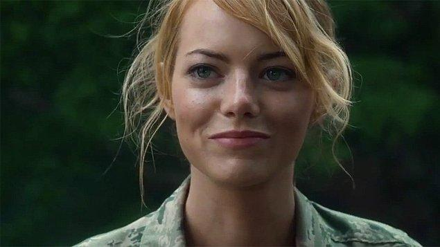Aloha'daki rolüyle Emma Stone