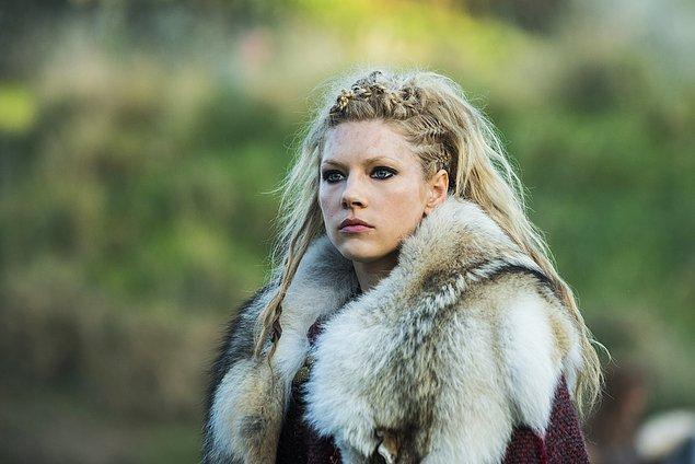 Lagertha çıktı!