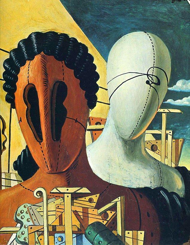 Giorgio de Chirico ve en beğenilen çalışmalarından biri