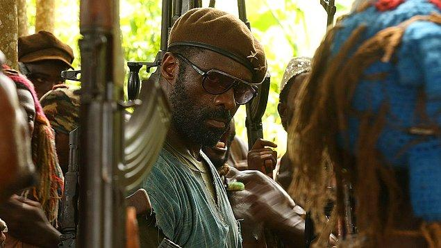 "4. ""Beasts of No Nation (2015)"" filmindeki rolüyle ""Idris Elba"""