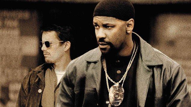 "9. ""İlk Gün/Training Day (2001)"" filmindeki rolüyle ""Denzel Washington"""