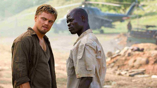"""18. """"Kanlı Elmas (2006)"""" filmindeki rolüyle """"Djimon Hounsou"""""""