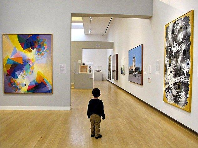 3. Müzenin her bölümünü gezmek zorunda değilsiniz!