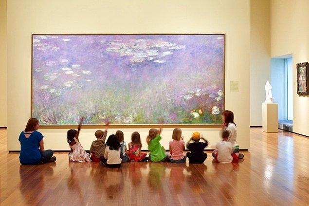 4. Sanat müzeleri gerçekten sıkıcı mıdır?