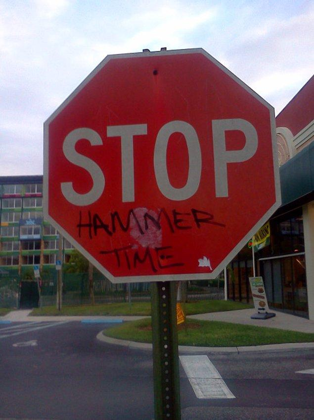 14. Mc Hammer abimizden geliyor: Kentaçdiz!
