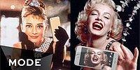 А что если бы у икон старых голливудских фильмов был профиль в Instagram?