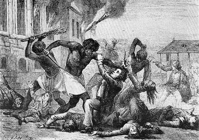 Fakat isyan iki gün içerisinde bastırıldı. Bu esnada 200'e yakın siyah öldürüldü.