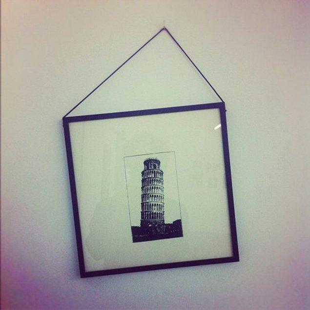 31. Yeter ki Pisa Kulesi eğik olmasın.