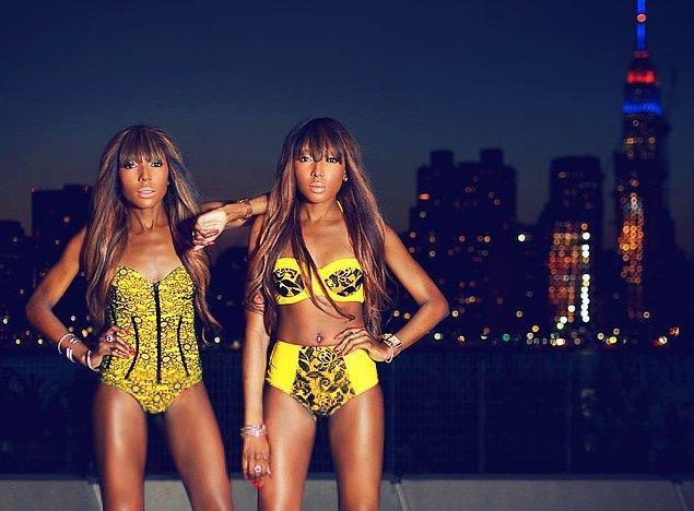 2. Dpipertwins: Danielle & Chantelle Dwomoh-Piper