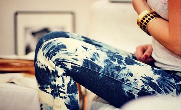 Если отбелить джинсы в домашних условиях 895