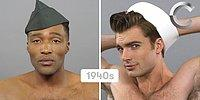 Стандарты красоты черных и белых американских мужчин за последние 100 лет