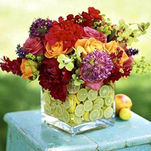 5. Стильная ваза для цветов ⚛✿❀