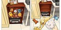 9 иллюстраций о жизни до и после собаки