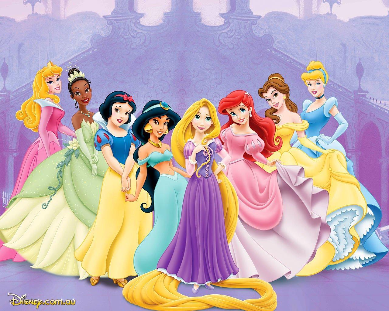 Все диснеевские принцессы картинки