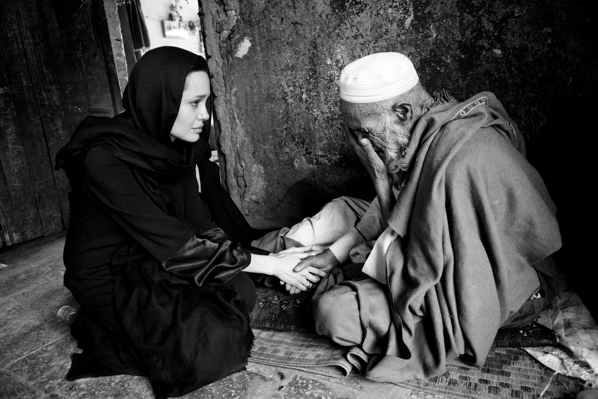 Она учит их быть добрыми и милосердными