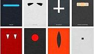 Kült Filmlerin Çeşitli Sanatçılar Tarafından Tasarlanmış 35 Minimalist Film Afişi