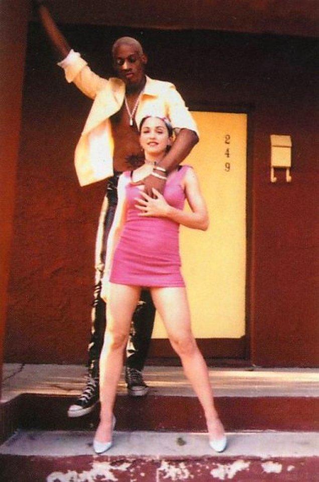 9. Dennis Rodman ve Madonna, 1994
