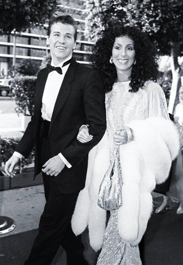 14. Cher ve Val Kilmer, 1982
