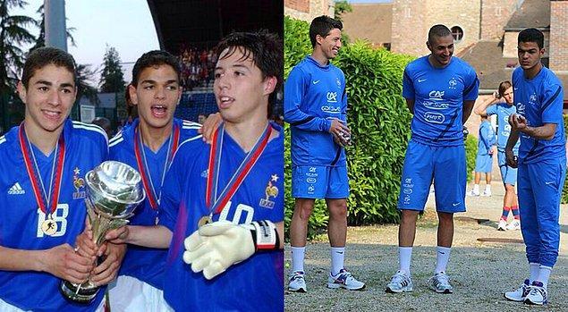 22- Benzema, Nasri ve Ben Arfa