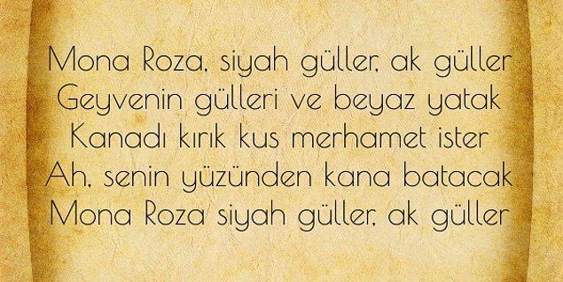 2. Mona Roza hangi şairimize aittir?