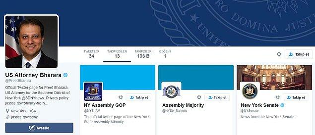 Ancak bu takip kısa sürdü. Ertesi gün Twitter kullanıcıları savcının profiline baktığında, savcının Cumhurbaşkanı Erdoğan'ı, artık takip etmediğini gördüler.