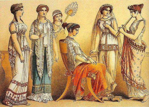 4. Antik Yunan'da bir kadına elma atmak ona evlenme teklif etmek anlamına geliyordu.