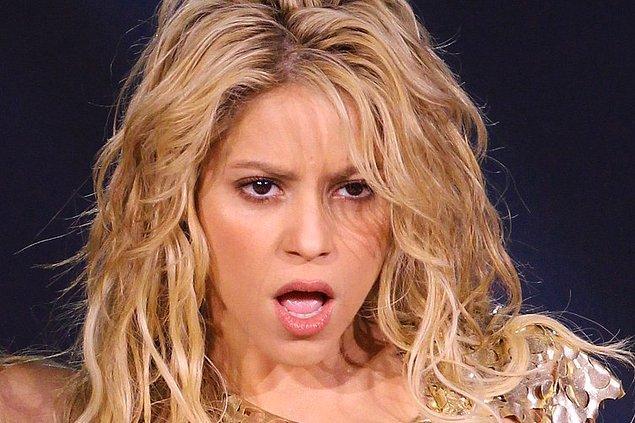 10. Shakira okul korosuna alınmamıştır. Öğretmeni sesinin keçiye benzediğini düşünüyordu.