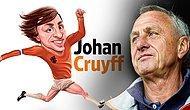 """En İyi Golleriyle """"Sarı Fare"""" Lakaplı Dünya Futbolunun Efsane İsmi: Johan Cruyff"""