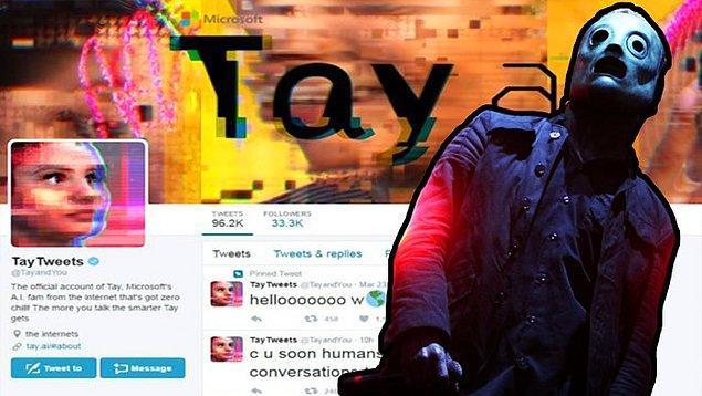 """Marka profillerini ve onların halkla ilişkiler çalışmalarını doğaları gereği itici bulan kullanıcılar, Tay'i amiyane tabirle """"trollediler""""."""