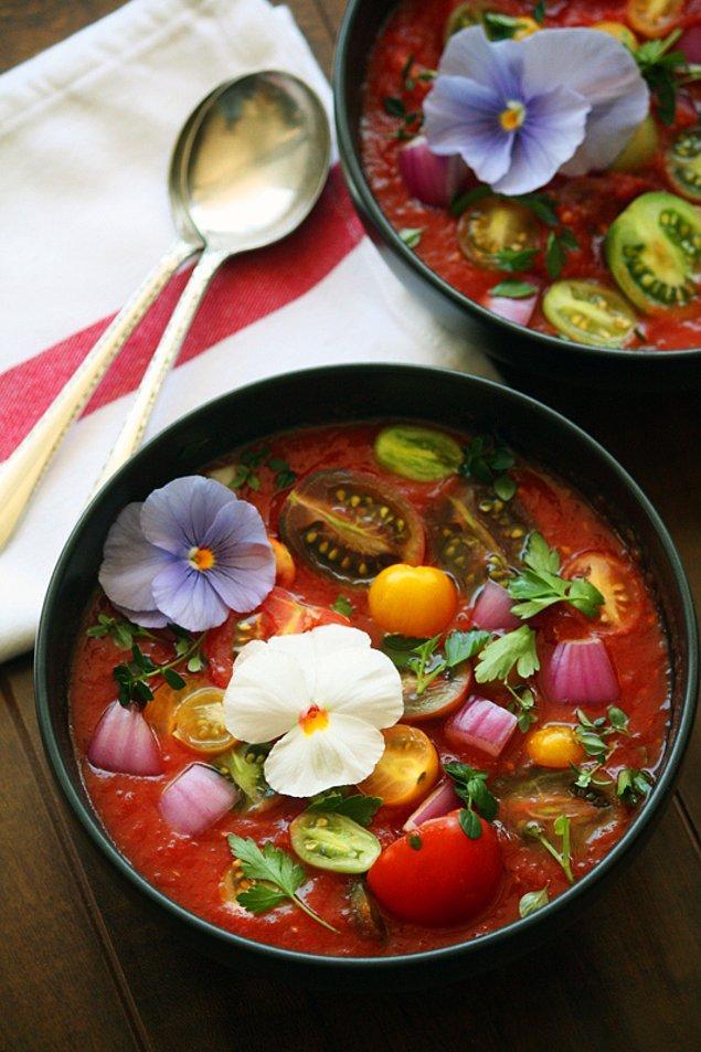 6. İspanya'dan Gelen Soğuk Çorba : Gazpacho