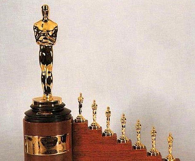 19. Pamuk Prenses ve Yedi Cüceler, Walt Disney'e çok özel bir onur ödülü kazandırdı.Ödül, biri normal boyutta, yedisi ise minyatür olan 8 Oscar heykelciğinden oluşuyor.