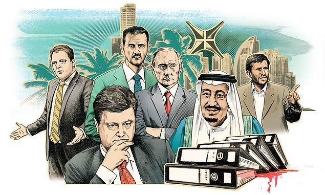 12 lider ve 143 politikacı