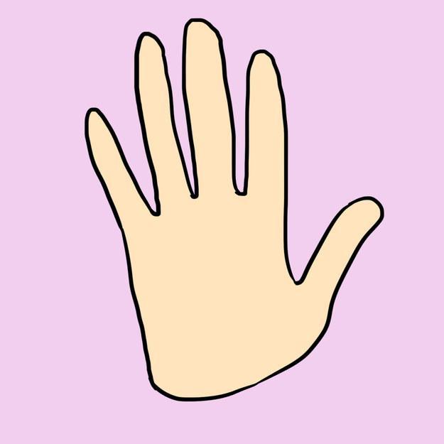 Сексуальность безымянный палец