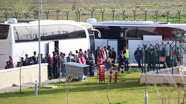 Göçmenler Kırklareli'deki merkeze ulaştı